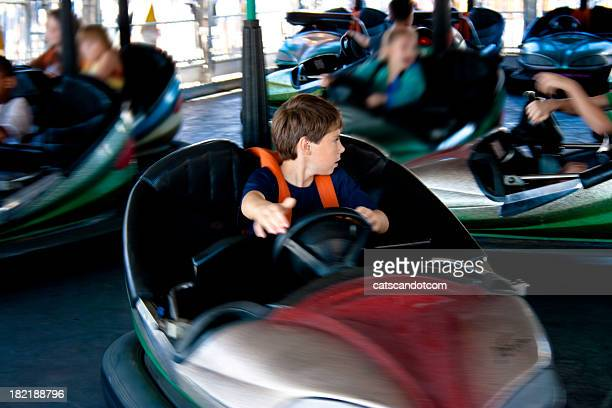 Bumper Cars in the Fair