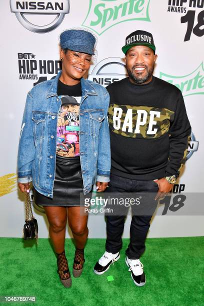 Bun B arrives at the BET Hip Hop Awards 2018 at Fillmore Miami Beach on October 6 2018 in Miami Beach Florida