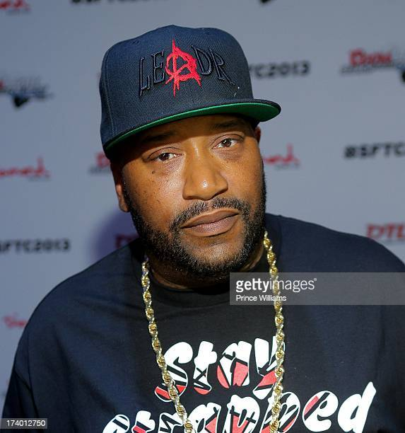 Bun B attends Coors Light Search For The Coldest MC With Special Guest Big Sean at Prive on July 18 2013 in Atlanta Georgia