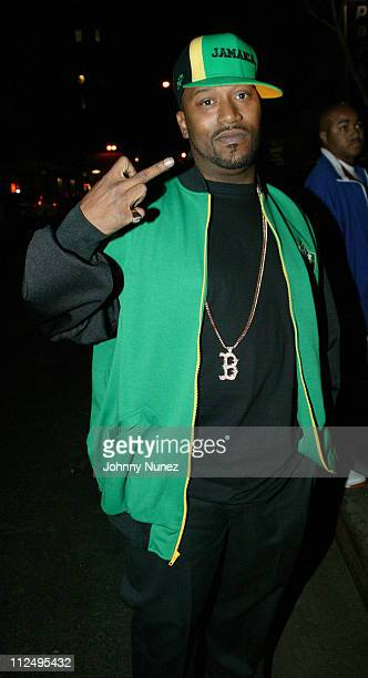 Bun B during Sunny of Hot 971 FM Birthday Party April 10 2005 at Deep in New York City New York United States