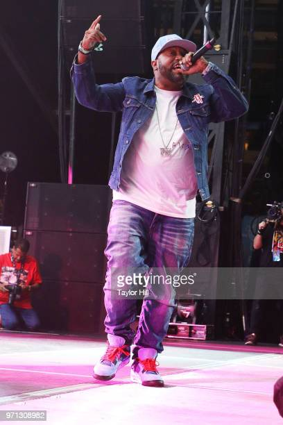 Bun B performs at MetLife Stadium on June 10 2018 in East Rutherford New Jersey
