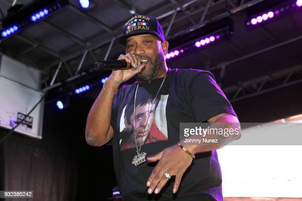Bun B performs at The Fader Fort 2018 Day 1 on March 14 2018 in Austin Texas