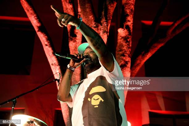 Bun B performs at the Grammy Block Park during SXSW Music at Four Seasons Hotel on March 16 2017 in Austin Texas