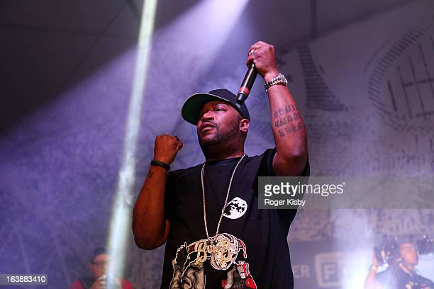 Bun B performs onstage at The Fader Fort presented by Converse during SXSW on March 16 2013 in Austin Texas
