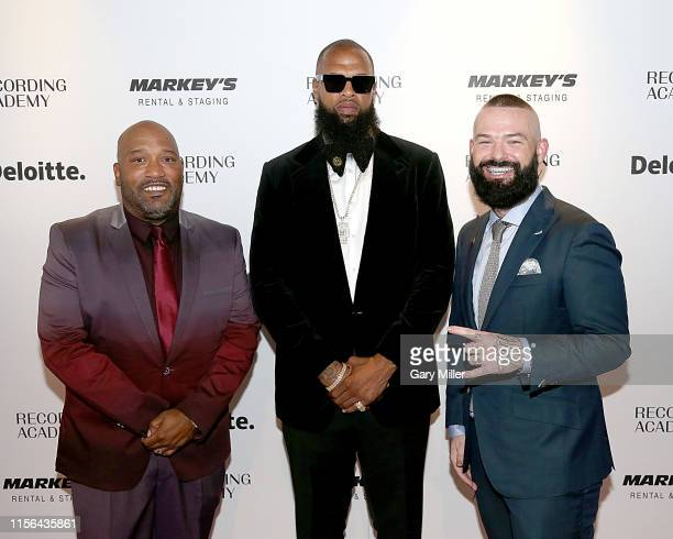 Bun B Slim Thug and Paul Wall attend the Texas Chapter of the Recording Academy's 25th Anniversary Gala at ACL Live on July 18 2019 in Austin Texas