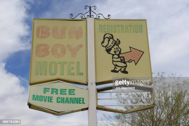 Bun Boy Motel in Baker California on June 10 2017