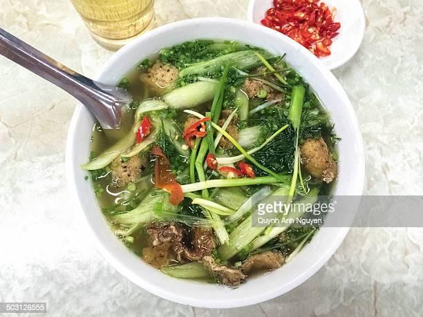 Bun Ca Fish Noodle Soup - Vietnamese food