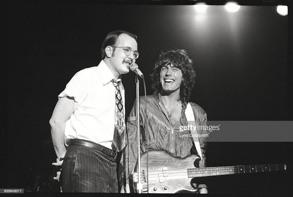 Bun E. Carlos and Tom Petersson of Cheap Trick : News Photo