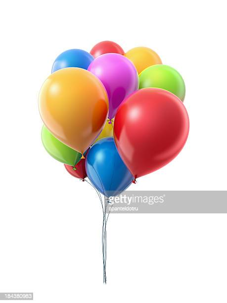Bunch oа balloons