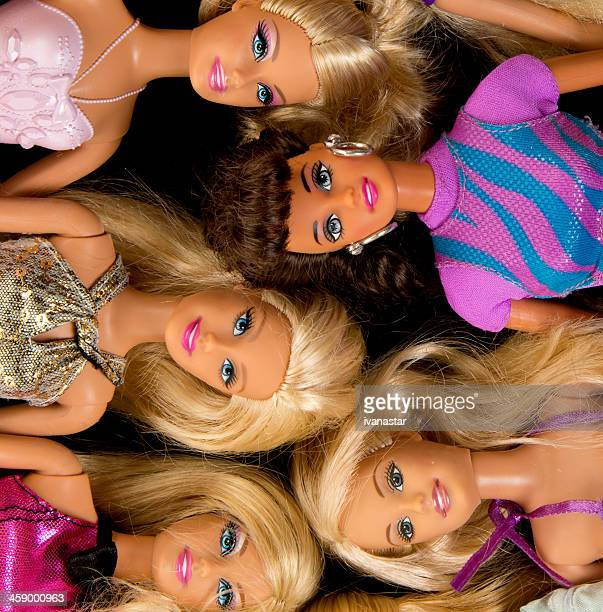 Bunch of Barbie Fashon Dolls