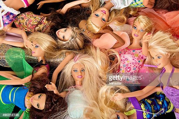Racimo de Barbie Fashon muñecas