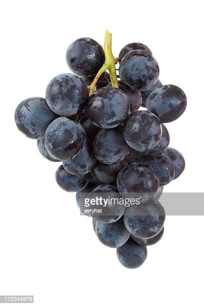 Tas de raisin noir