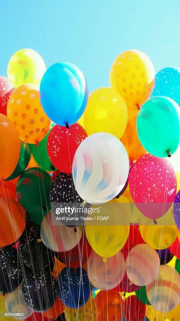Bunch of colourful balloon : Stock Photo