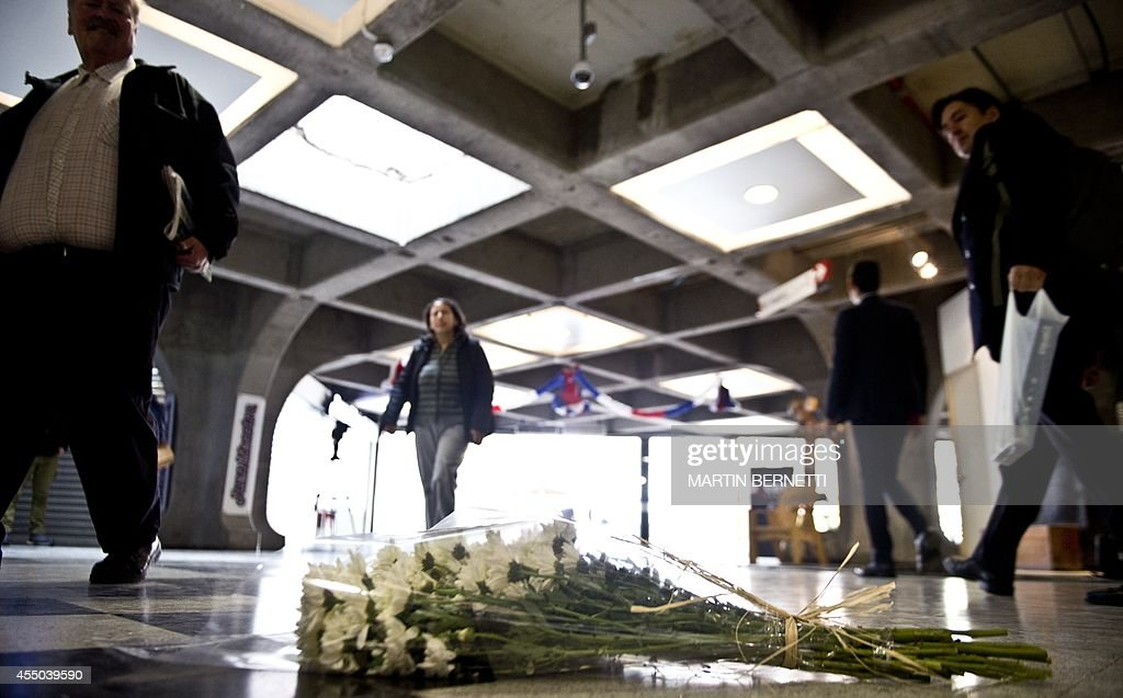 CHILE-ATTACK-SUBWAY-AFTERMATH : News Photo