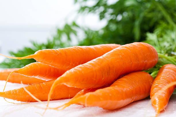 Bunch Of Fresh Carrots, Close Up Wall Art