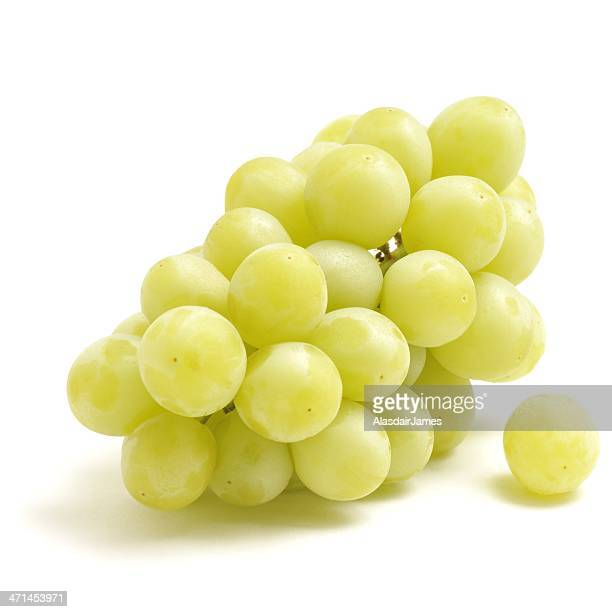 bunch of green grapes - white grape stock photos and pictures