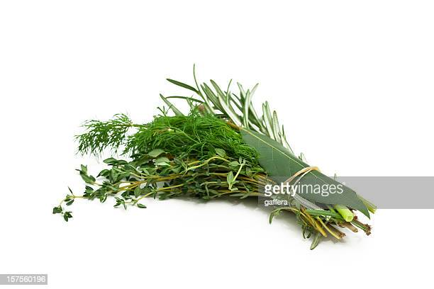 Tas de mélange de plantes