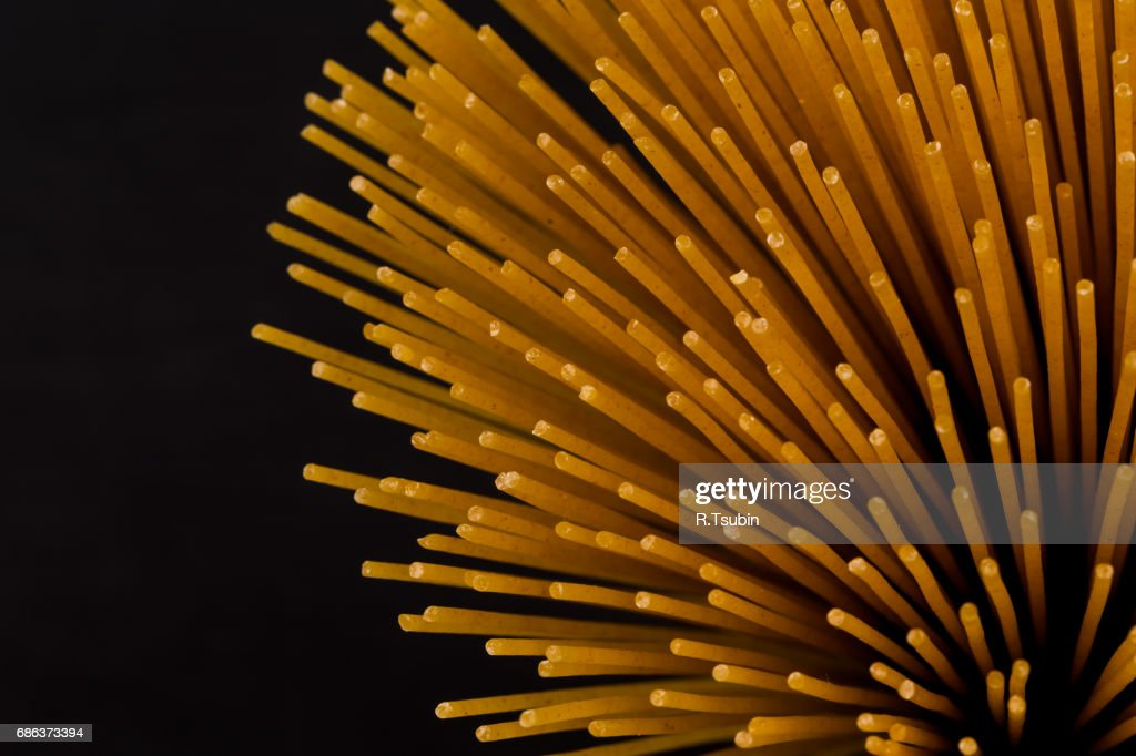 Bunch of raw italian pasta : Stock Photo