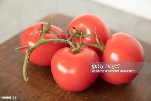 Bunch of tomatoes.