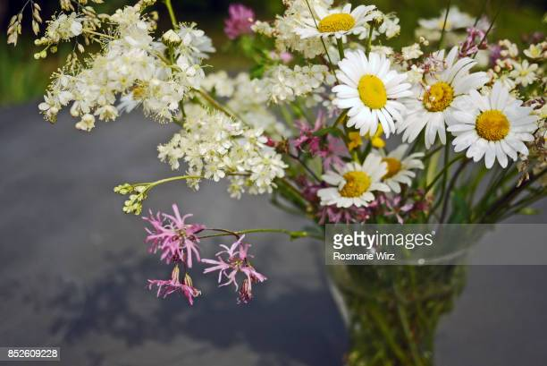 bunch of wild flowers - mazzi fiori di campo foto e immagini stock