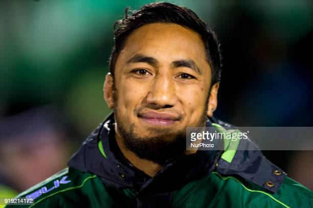 Bundee Aki of Connacht pictured before the Guinness PRO14 Round 15 match between Connacht Rugby and Zebre Rugby at the Sportsground in Galway Ireland...