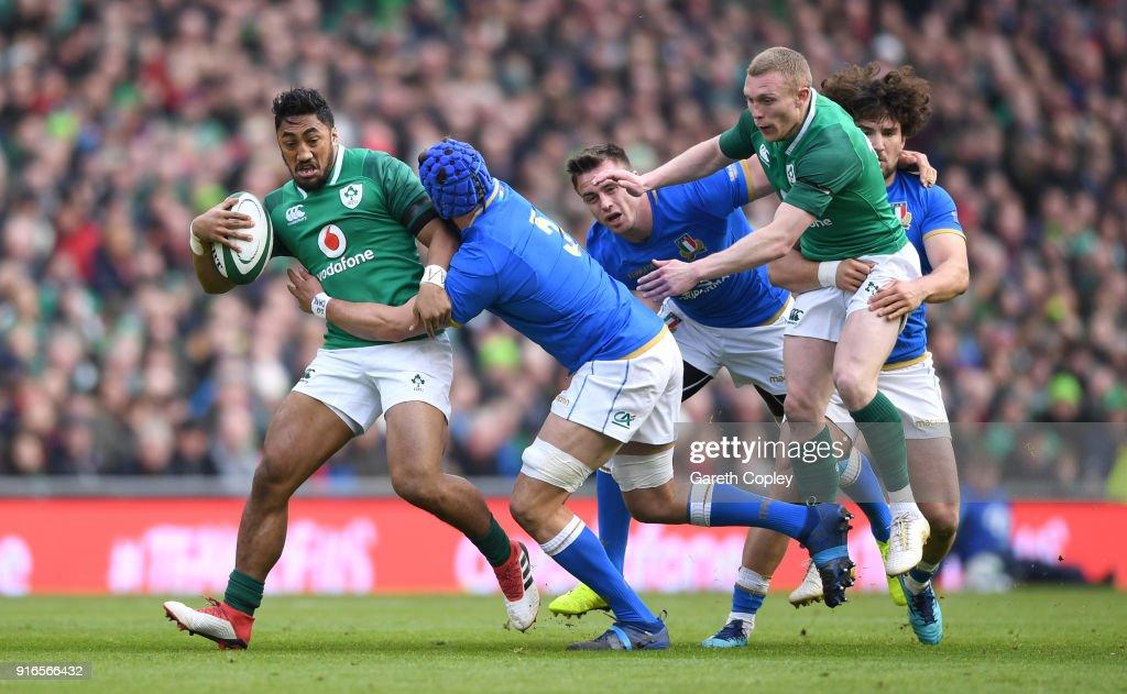 Ireland v Italy - NatWest Six Nations : Fotografía de noticias