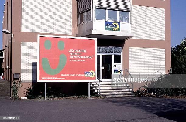"""Bundesgeschäftstelle der Partei""""Bündnis 90 / Die Grünen""""- 1990"""