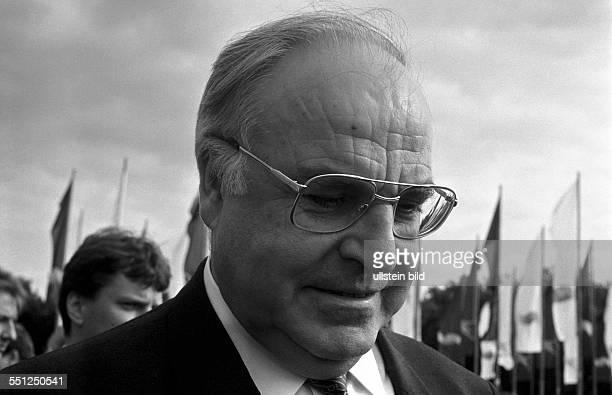 Bundeskanzler Helmut Kohl besucht den 92 Deutschen Katholikentag in Berlin