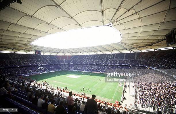 1 Bundesliga 00/01 Hamburg Hamburger SV TSV 1860 Muenchen 22 Volksparkstadion/AOL Arena