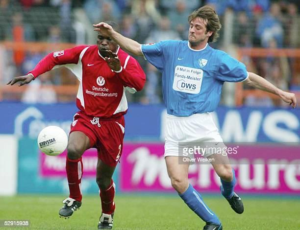 Bundesliga 02/03, Bochum; VfL Bochum - 1. FC Kaiserslautern; Herve NZELO-LEMBI/Kaiserslautern, Thomas CHRISTIANSEN/Bochum