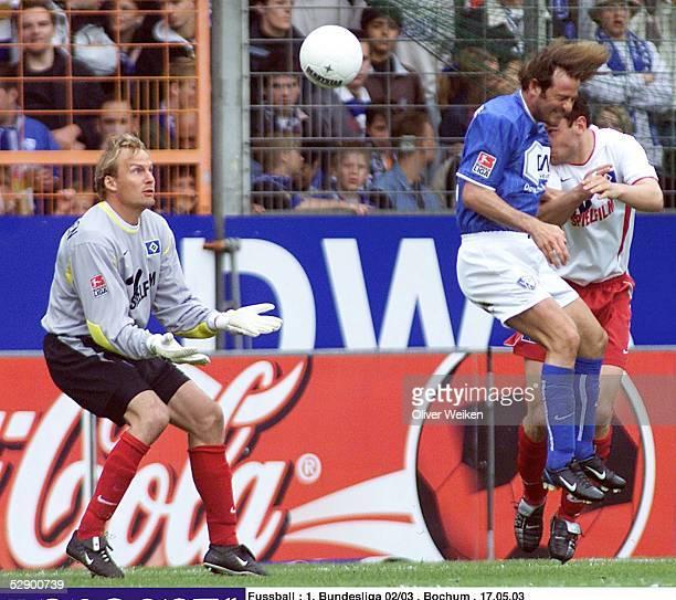 Bundesliga 02/03, Bochum; VfL Bochum - Hamburger SV 1:1; 1:0 durch Thomas CHRISTIANSEN/Bochum