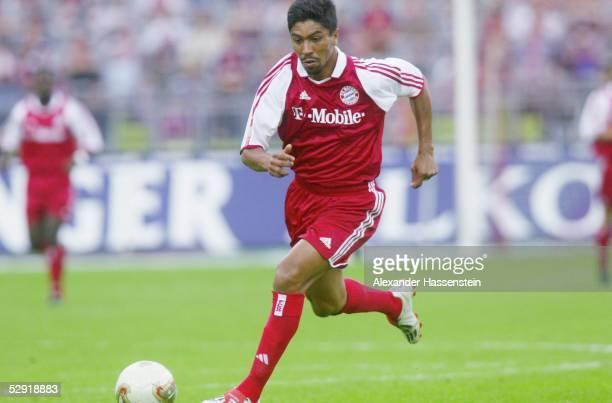 Bundesliga 02/03, Muenchen; FC Bayern Muenchen - VfB Stuttgart 2:1; Giovane ELBER/Bayern