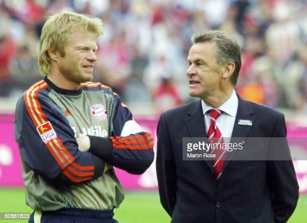 1 Bundesliga 02/03 Muenchen FC Bayern Muenchen VfB Stuttgart 21 Torwart Oliver KAHN Trainer Ottmar HITZFELD/Bayern