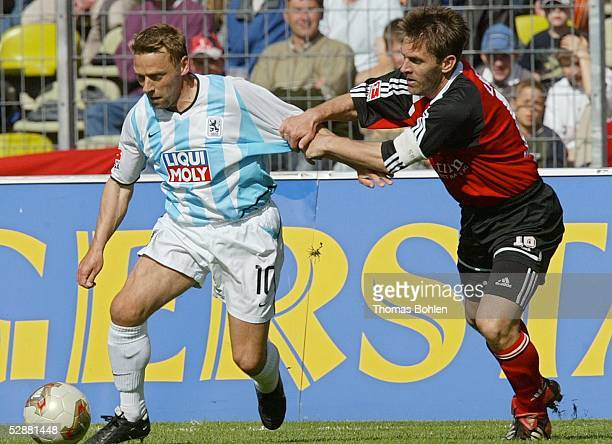 1 Bundesliga 02/03 Nuernberg 1 FC Nuernberg 1860 Muenchen 12 Thomas HAESSLER/1860 Dieter FREY/Nuernberg