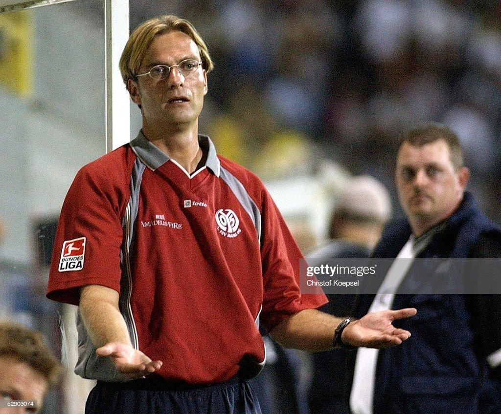 Fussball: 2. BL 03/04, Alemannia Aachen - FSV Mainz 05 : News Photo