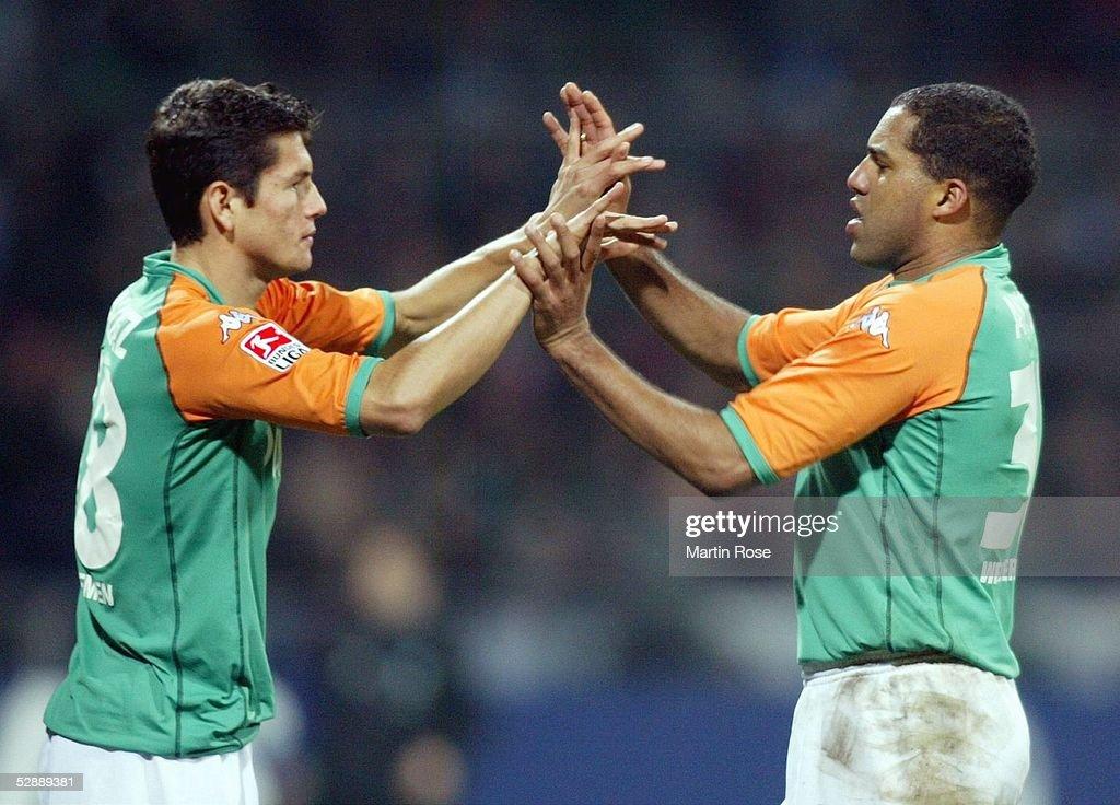 Fussball: 1. BL 03/04, SV Werder Bremen - VfL Bochum : News Photo