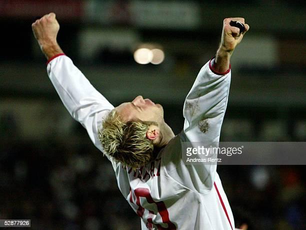 Bundesliga 03/04, Frankfurt; Eintracht Frankfurt - Hamburger SV 2:3; Sergej BARBAREZ/HSV