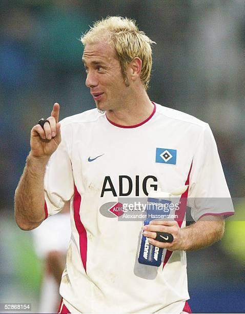 Bundesliga 03/04, Hamburg; Hamburger SV - Borussia Moenchengladbach 2:1; Sergej BARBAREZ/HSV