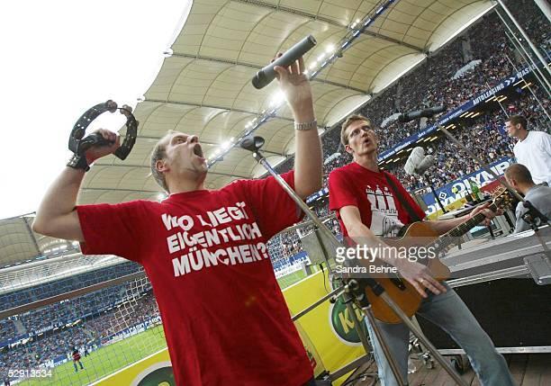 1 Bundesliga 03/04 Hamburg Hamburger SV FC Bayern Muenchen Lotto King Karl