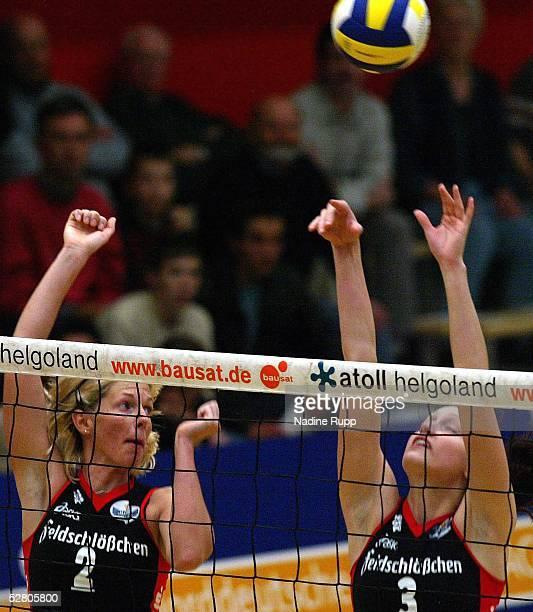 Bundesliga 03/04 Hamburg TV Fischbek Dresdener SC Beatrice DOEMELAND Christiane FUERST/Dresden