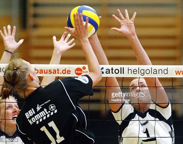 1 Bundesliga 03/04 Hamburg TVF Phoenix Hamburg Berlin BVC 68 31 Kerstin AHLKE/Fischbek Ramona STUCKI/Berlin Christina BENECKE/Fischbek