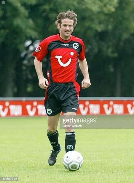 Bundesliga 03/04, Hannover; Hannover 96; Thomas CHRISTIANSEN