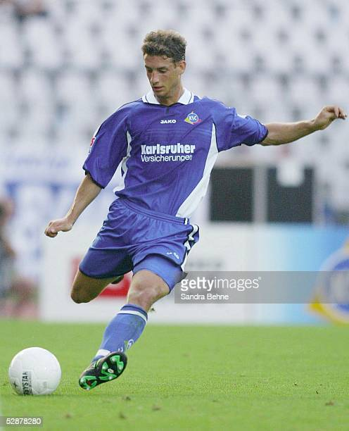 2 Bundesliga 03/04 Karlsruhe Karlsruher SC 1 FC Nuernberg 23 Thomas KIES/KSC
