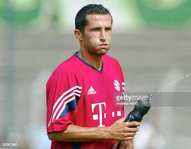 1 Bundesliga 03/04 Leipzig FC Bayern Muenchen/Trainingslager Hasan SALIHAMIDZIC