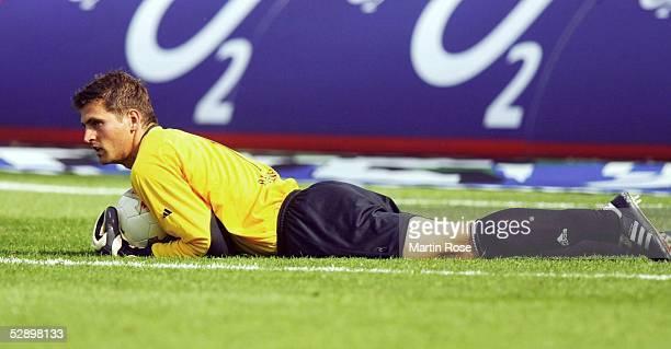 1 Bundesliga 03/04 Leverkusen Bayer 04 Leverkusen Hannover 96 40 Torwart Joerg BUTT/Leverkusen
