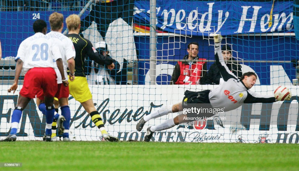 1 Bundesliga 04 05 Hamburg 19 03 05 Hamburger Sv Borussia News Photo Getty Images