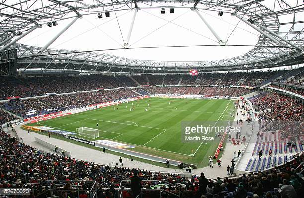 Bundesliga 04/05, Hannover, 19.03.05; Hannover 96 - Borussia Moenchengladbach 2:1; Uebersicht AWD-Arena Hannover