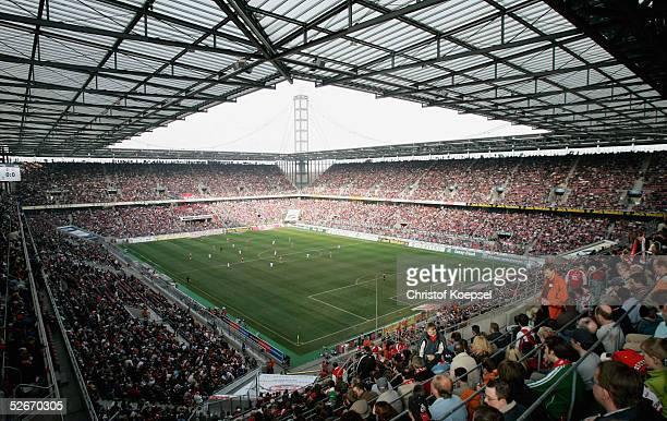 Fc Koeln Rot Weiss Essen  Rheinenergie Stadion