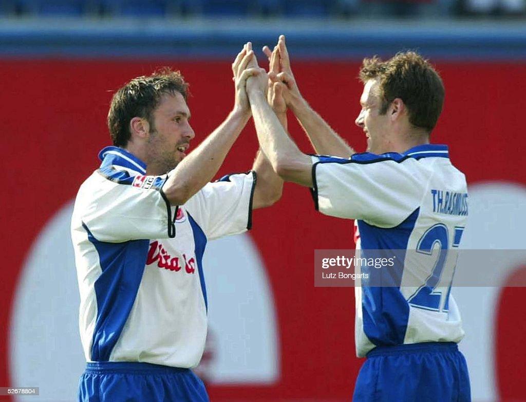 1. Bundesliga 04/05, Rostock, 16.04.05; FC Hansa Rostock - VfB... News Photo - Getty Images