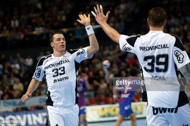 Bundesliga 2013/14, THW Kiel - HSV Handball: Dominik Klein , Filip Jicha // © xim.gs, www.xim.gs, picturedesk@xim.gs // Bankverbindung: Deutsche...